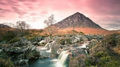 Oasis Landscape Wallpaper Background 50088