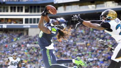 Seattle Seahawks Richard Sherman Wide Wallpaper 55969
