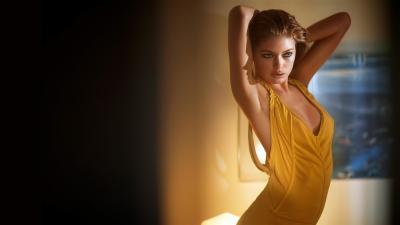 Sexy Doutzen Kroes Dress Wallpaper 52528