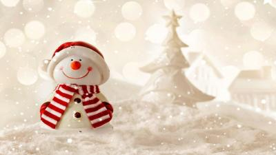 Snowman Holidays Wallpaper Background 52526