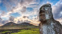 Stone Statue Wide Wallpaper 49655