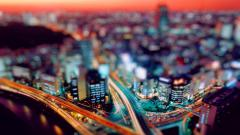 Tilt Shift City Computer Wallpaper 50086