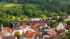 Tilt Shift City Widescreen Wallpaper 50084