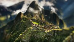 Tilt Shift Desktop Wallpaper 50078