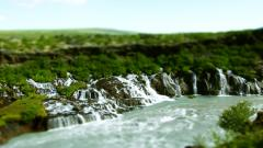 Tilt Shift Nature Wide Wallpaper 50079