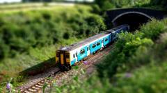 Tilt Shift Train Wallpaper 50082