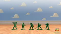 Toy Story Green Army Men Wallpaper 49252