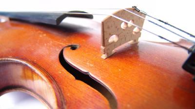 Violin Up Close Wallpaper 58799
