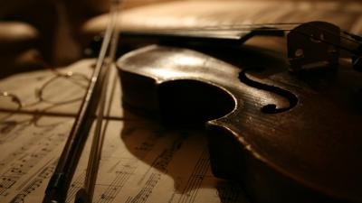 Violin Widescreen HD Wallpaper 58795