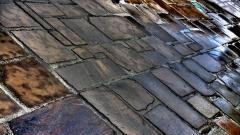 Wet Stone Pavement Wallpaper 49834