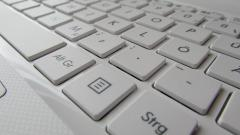 White Keyboard Widescreen Wallpaper 50593