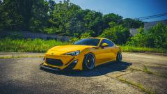 Yellow Scion FRS Wallpaper 49632