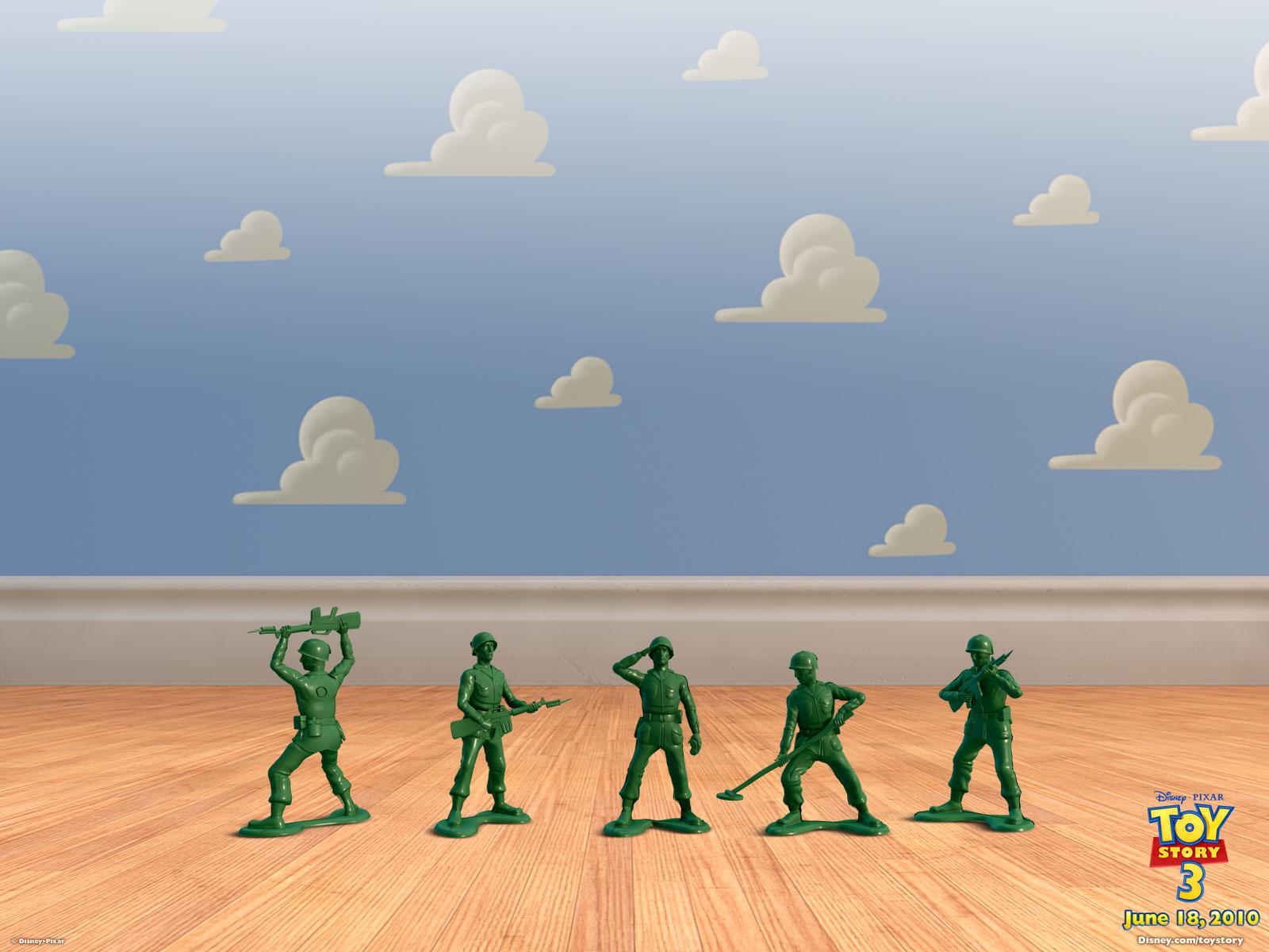 toy story green army men wallpaper 49252
