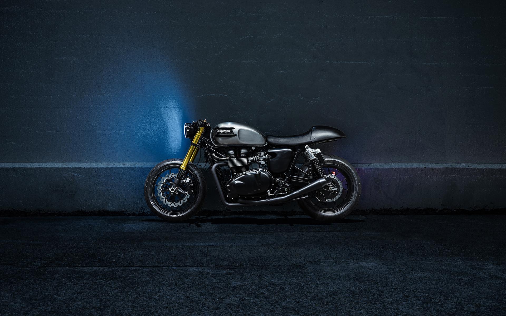 triumph bike desktop wallpaper 49585