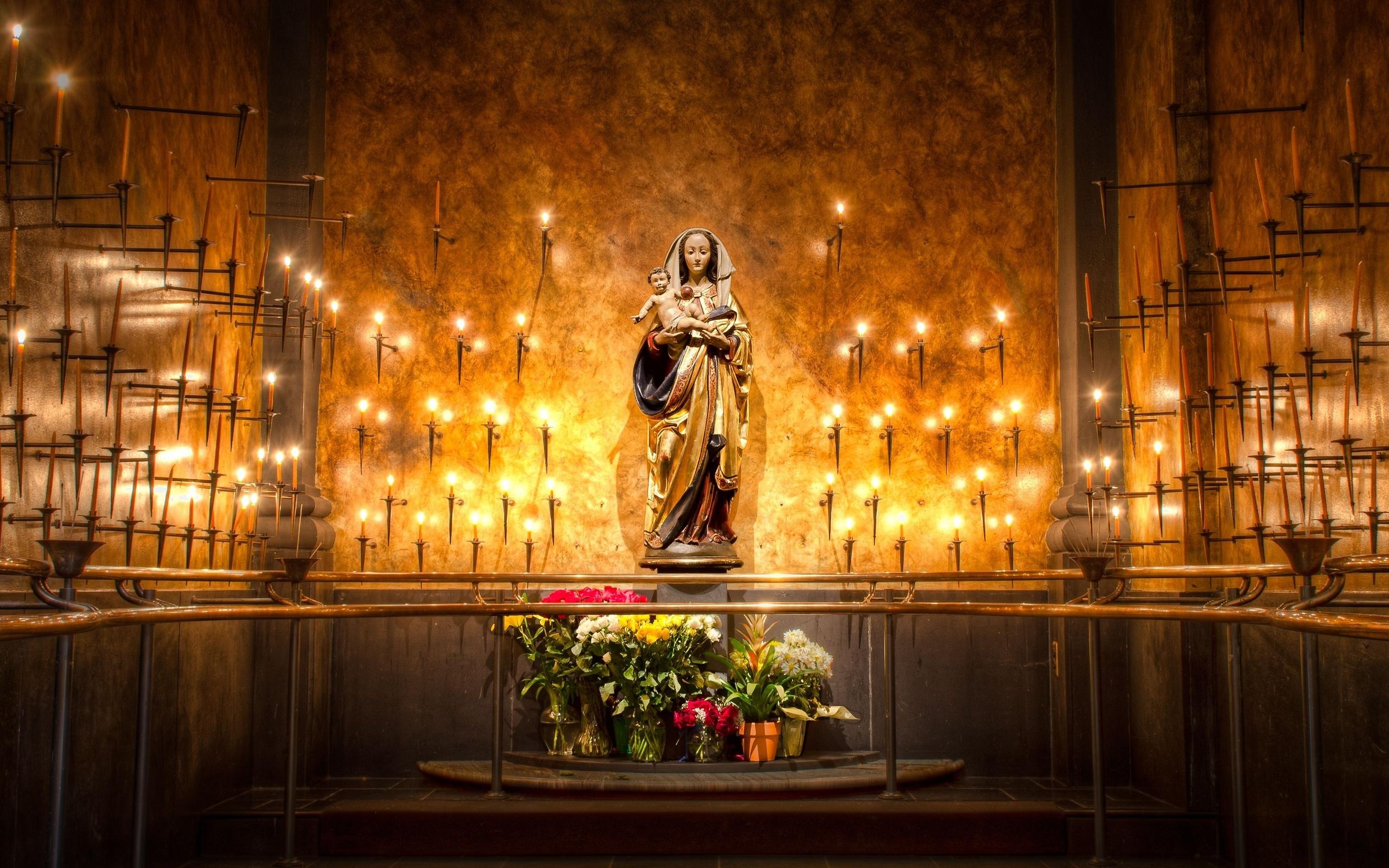 Virgin Mary Church Wallpaper 49644