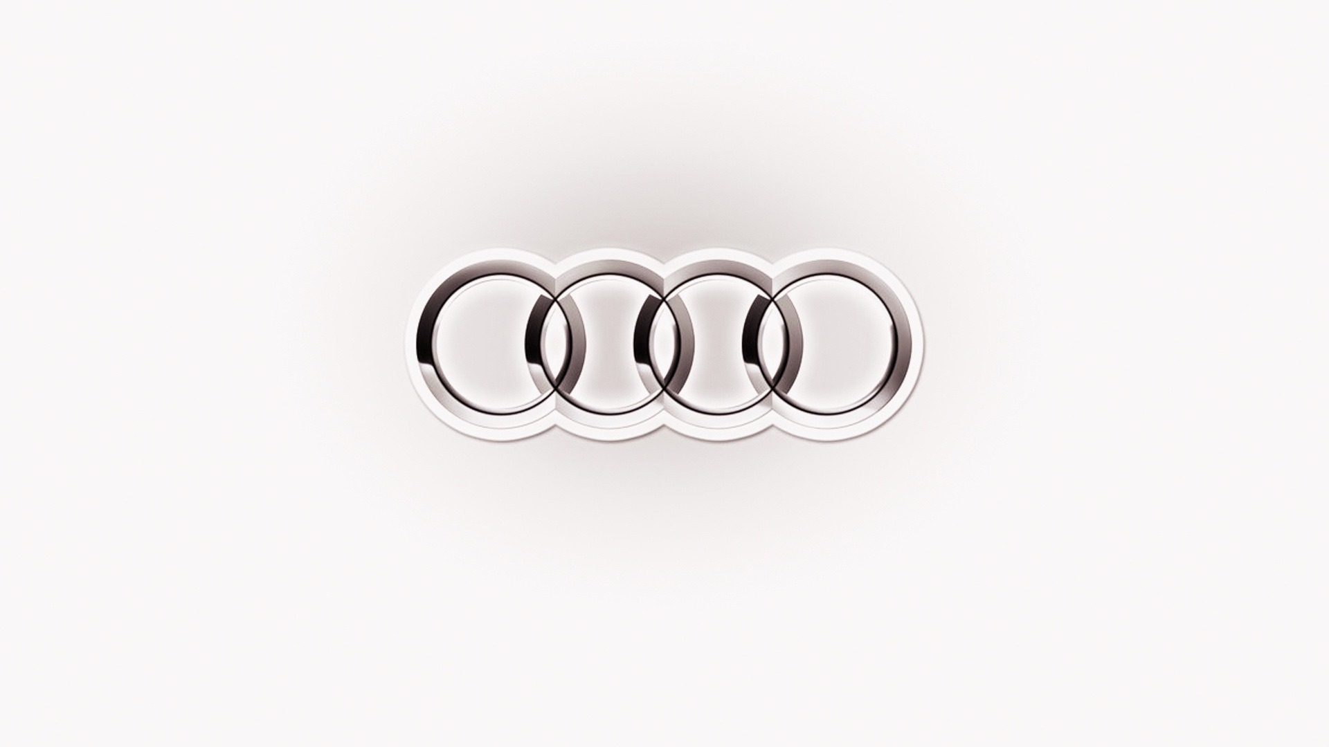 white audi logo wallpaper 58770