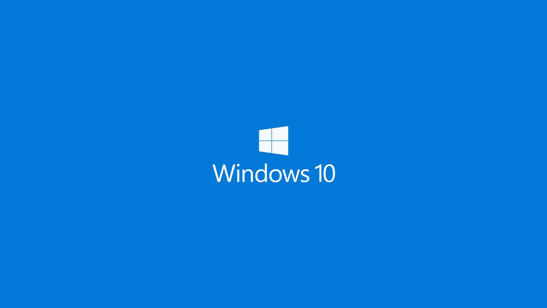 blue windows 10 wallpaper 49912