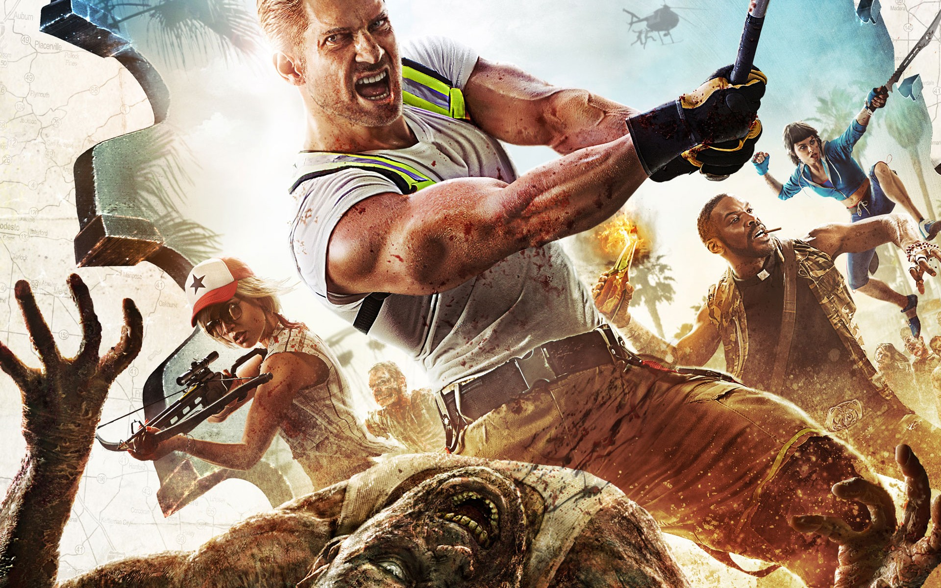 Dead Island 2 Game Wallpaper 54163 1920x1200px