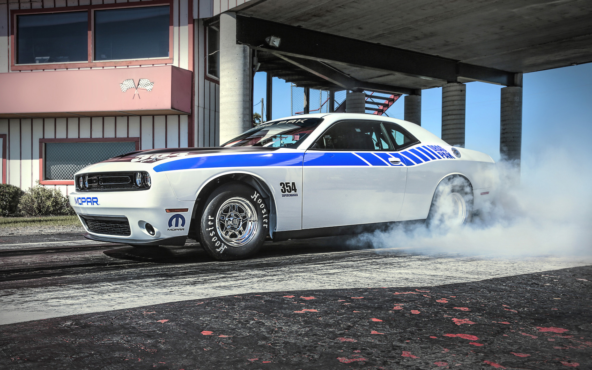 dodge challenger car burnout wallpaper 51704