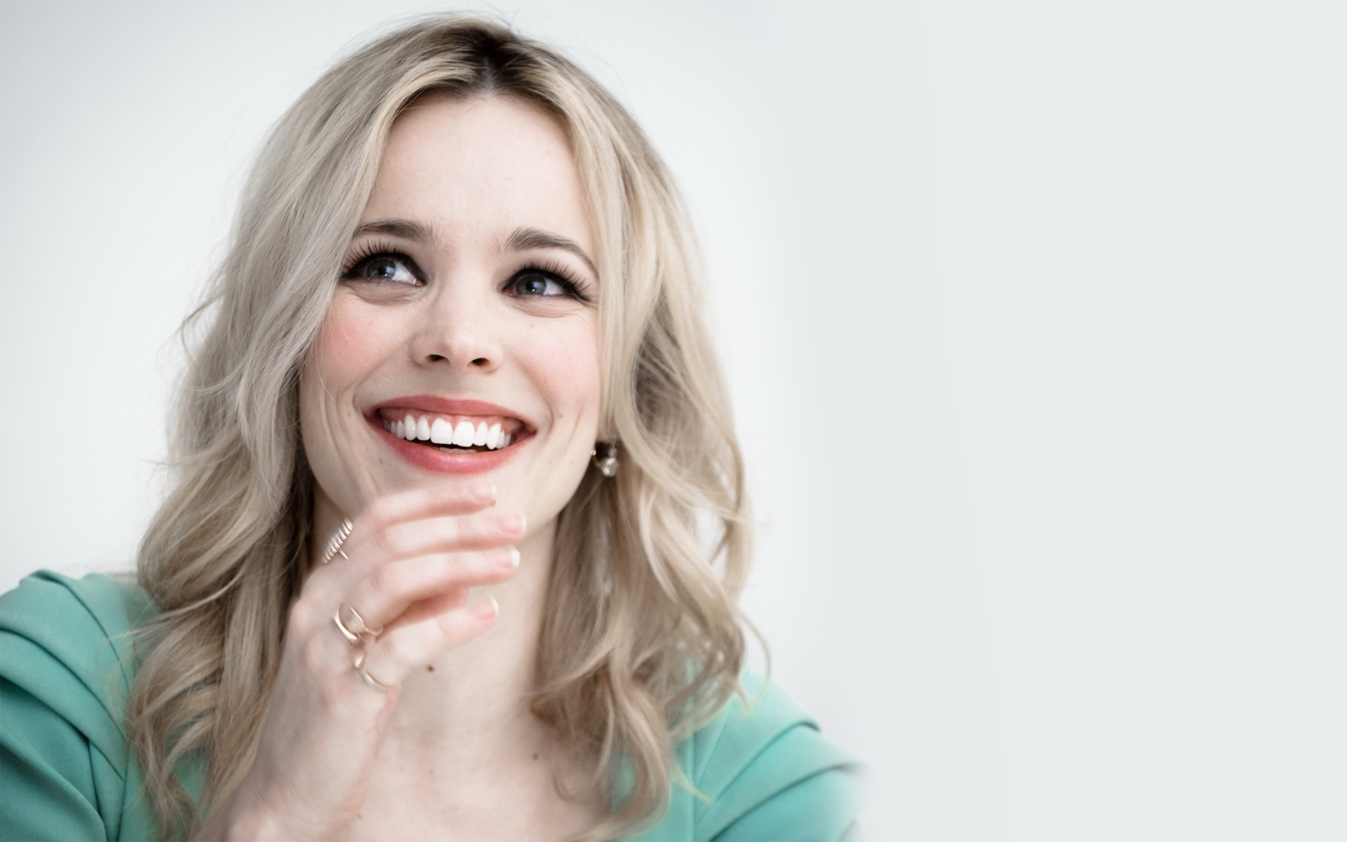 happy rachel mcadams wallpaper 51259