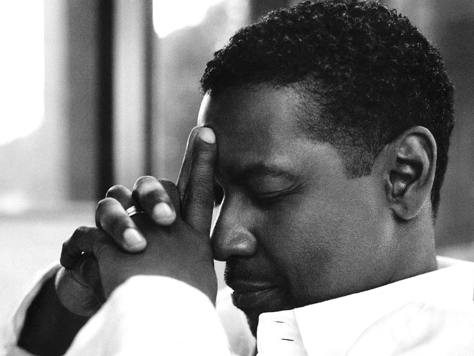 monochrome denzel washington computer wallpaper 53572