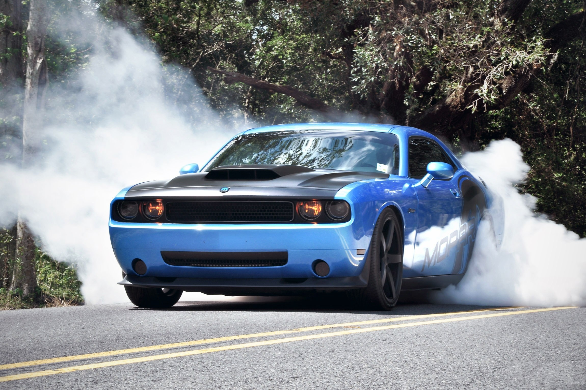 muscle car burnout wallpaper 51707