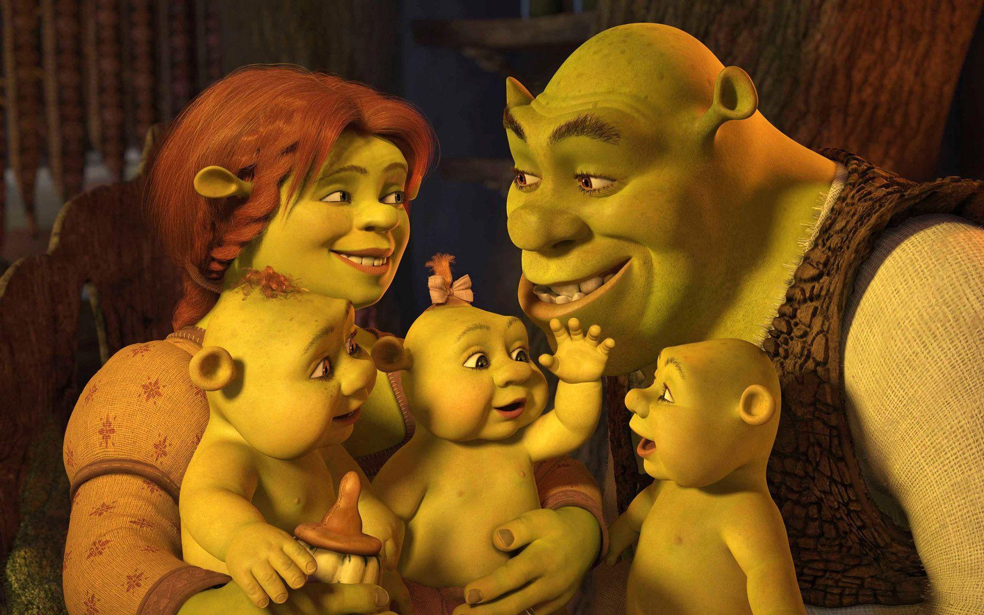 shrek family desktop wallpaper 51303