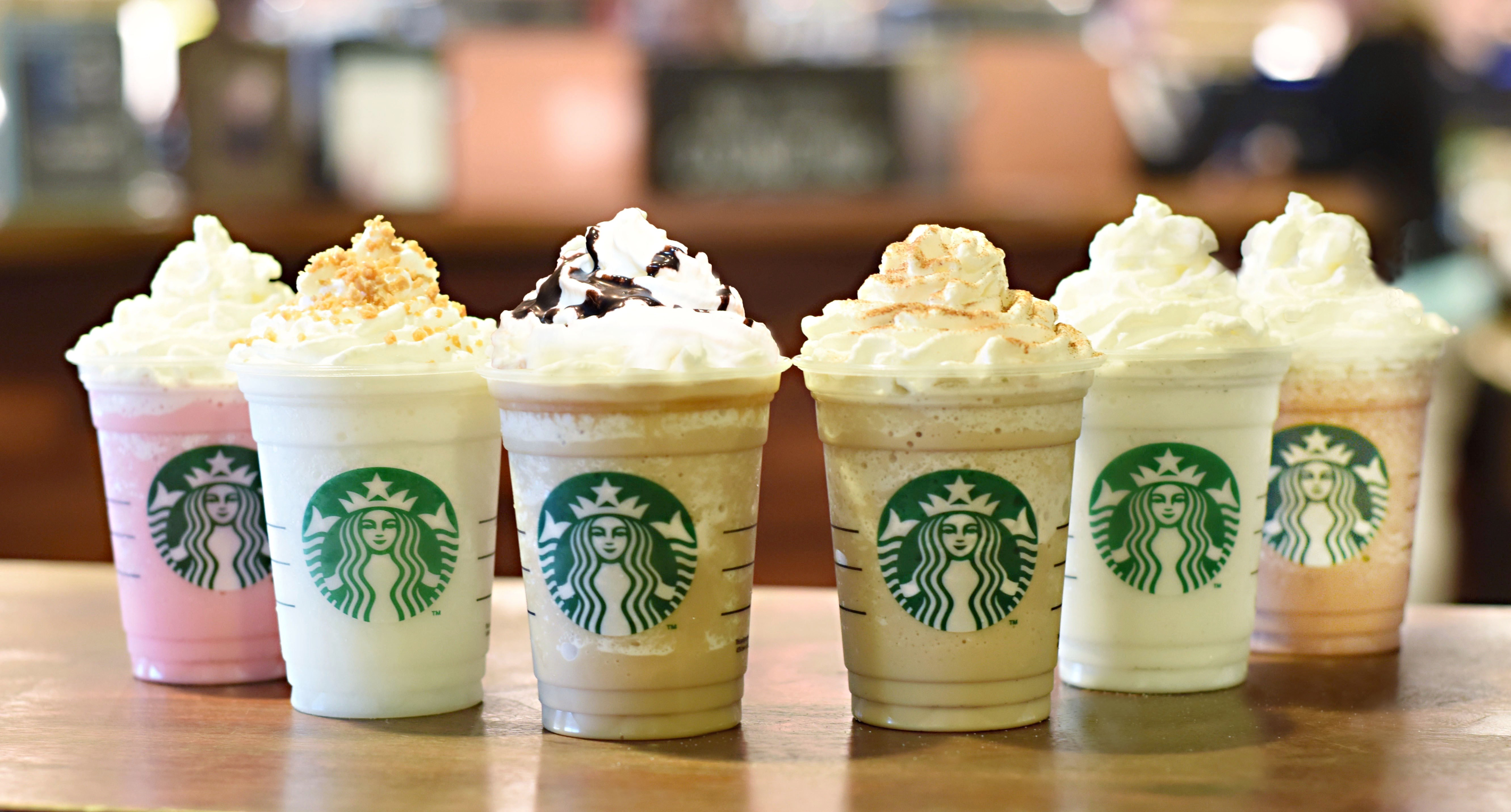 starbucks drinks widescreen hd wallpaper 53507