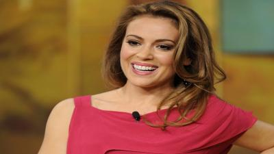 Alyssa Milano Smile Wallpaper Photos 53803
