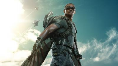 Anthony Mackie Actor Widescreen Wallpaper 57262