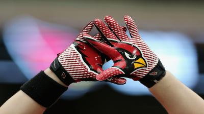 Arizona Cardinals Gloves Wide Wallpaper 52928