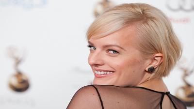 Elisabeth Moss Smile Wallpaper Background 57526