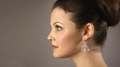Ginnifer Goodwin Side Profile Wallpaper 53641