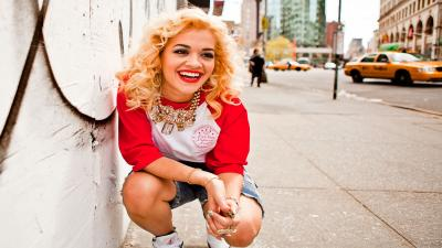 Happy Rita Ora Wallpaper 57366