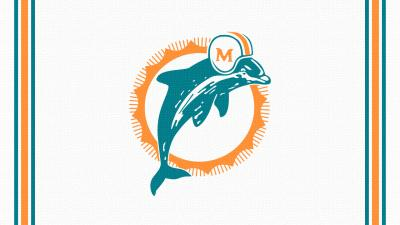 Miami Dolphins Retro Wallpaper 52923