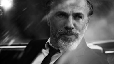 Monochrome Christoph Waltz Wallpaper 57158