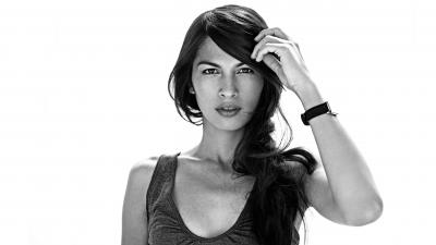 Monochrome Elodie Yung Wide Wallpaper 57199