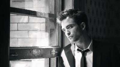 Monochrome Robert Pattinson HD Wallpaper 57739