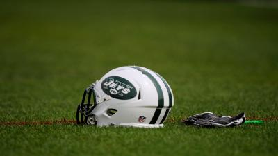 New York Jets Helmet HD Wide Wallpaper 52911