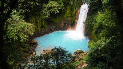 Rio Celeste Waterfall 55584