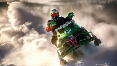 Snowmobile Desktop Wallpaper 53632