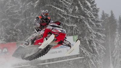 Snowmobile Wide HD Wallpaper 53630