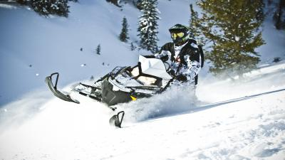 Snowmobile Wide Wallpaper 53626