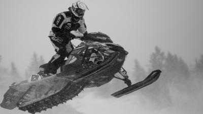 Snowmobile Widescreen Wallpaper 53631
