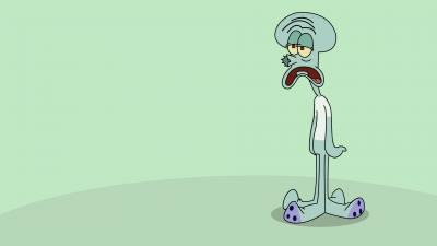 Squidward Desktop Wallpaper 53521
