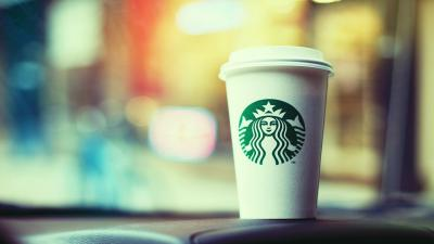 Starbucks Coffee Cup Wallpaper Background 53516