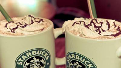 Starbucks Drinks Wide Wallpaper 53514