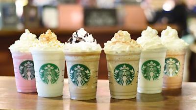 Starbucks Drinks Widescreen HD Wallpaper 53507