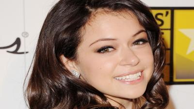 Tatiana Maslany Smile Wallpaper 57315