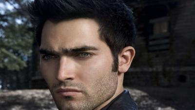 Tyler Hoechlin Face Wallpaper 54365